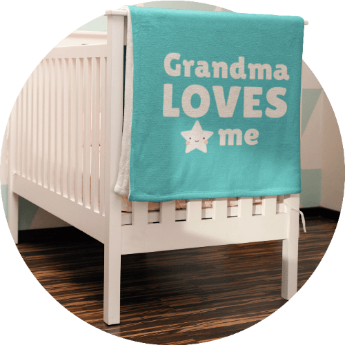 Custom Baby Blankets Family