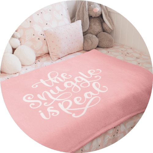 Custom Baby Blankets Quotes
