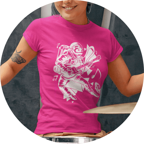 Custom Band Merch T-shirts