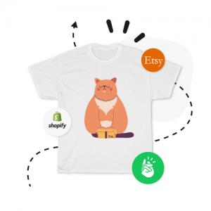 Custom Cat T-Shirt Where To Sell