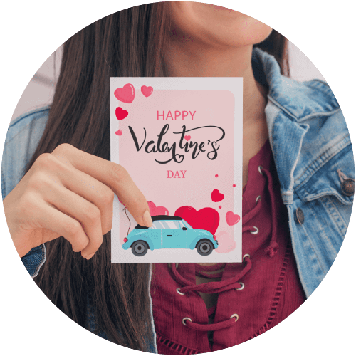 Custom Greeting Cards Valentines Day Card