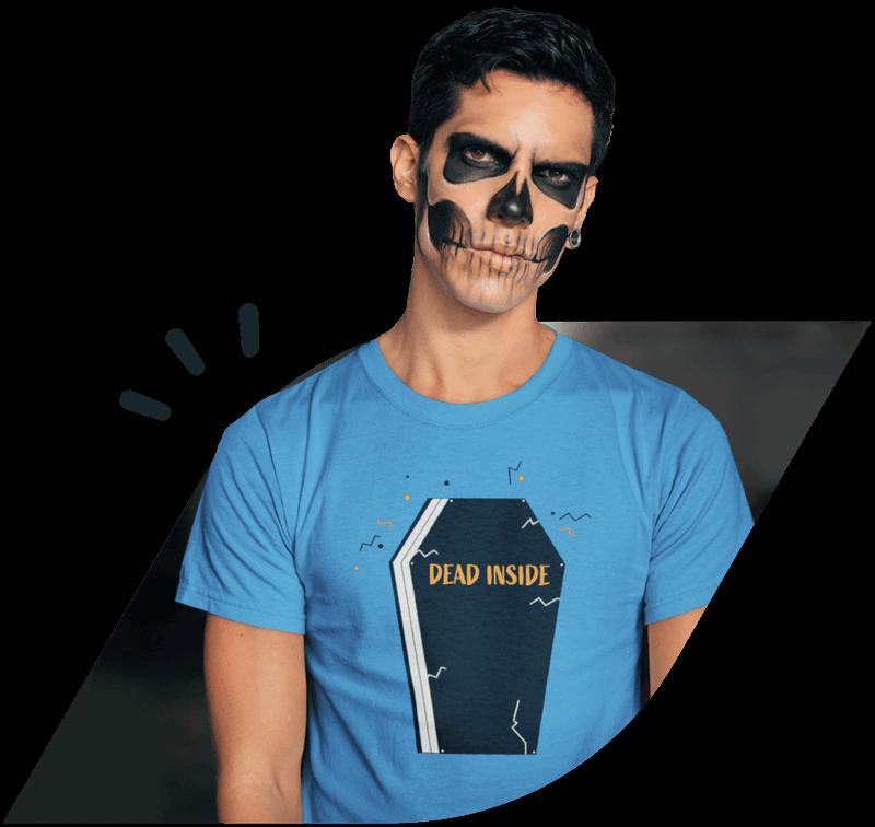 Custom Halloween t-shirts Main Visual