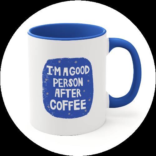 Custom Mugs Morning Coffee