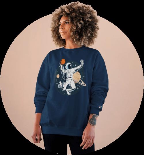 Custom Sportswear Champion Sweatshirt