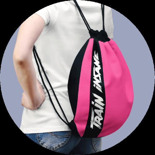 Custom Sportswear Drawstring Bag