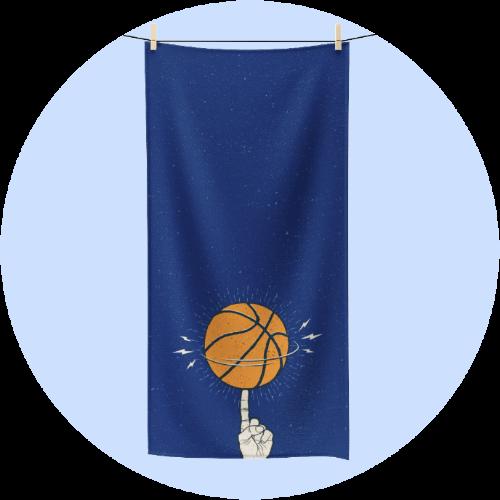 Custom Sportswear Polycotton Towel