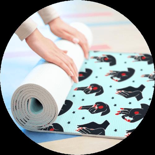 Custom Sportswear Yoga Mat