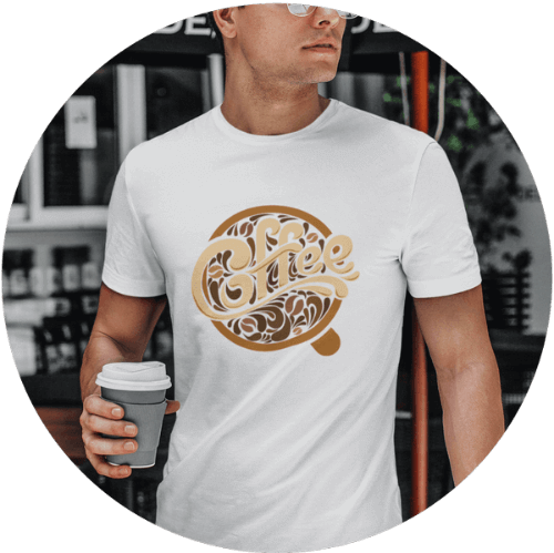 Custom T-shirt Printing Men