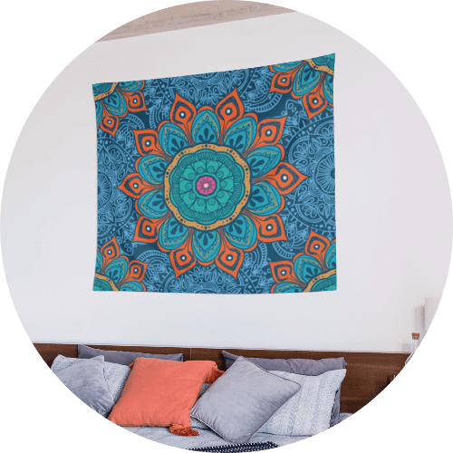 Custom Tapestry Mandala