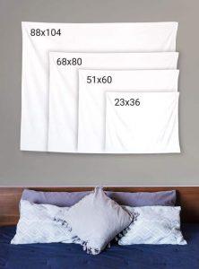 Custom Tapestry Sizes