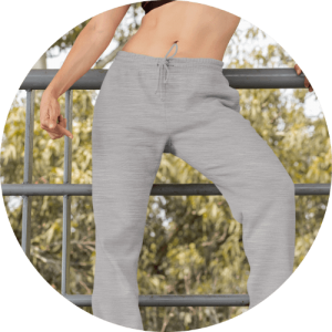 Custom sweatpants mockup generator