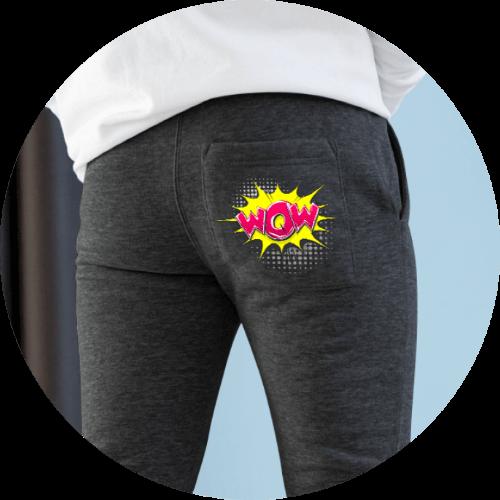 Custom sweatpants no minimum order