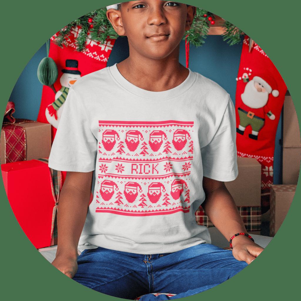 Customized Christmas T-shirt