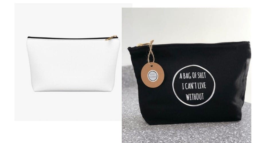 Fitness Merch Accessory Pouch