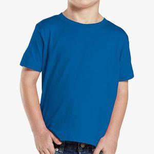 Kids Fine Jersey Tee Blue