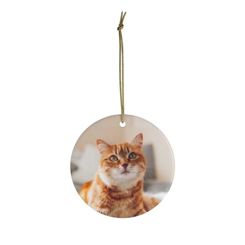 Personalized Christmas Ornaments Circle shaped Ornaments