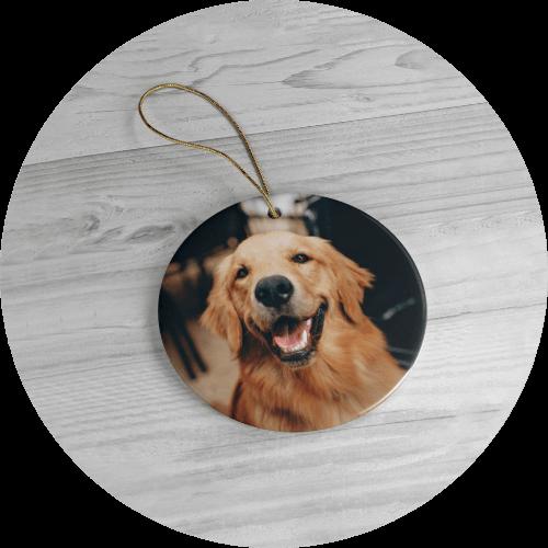 Personalized Christmas Ornaments Pet Portraits