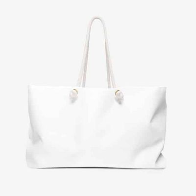 Personalized gift for her weekend bag