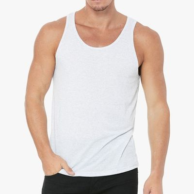 Personalized jersey tank top