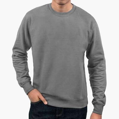 Personalized mens sweatshirt gift for him