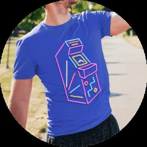 Retro Arcade t-shirt