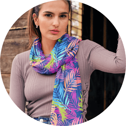 Scarf personalized gifts for her
