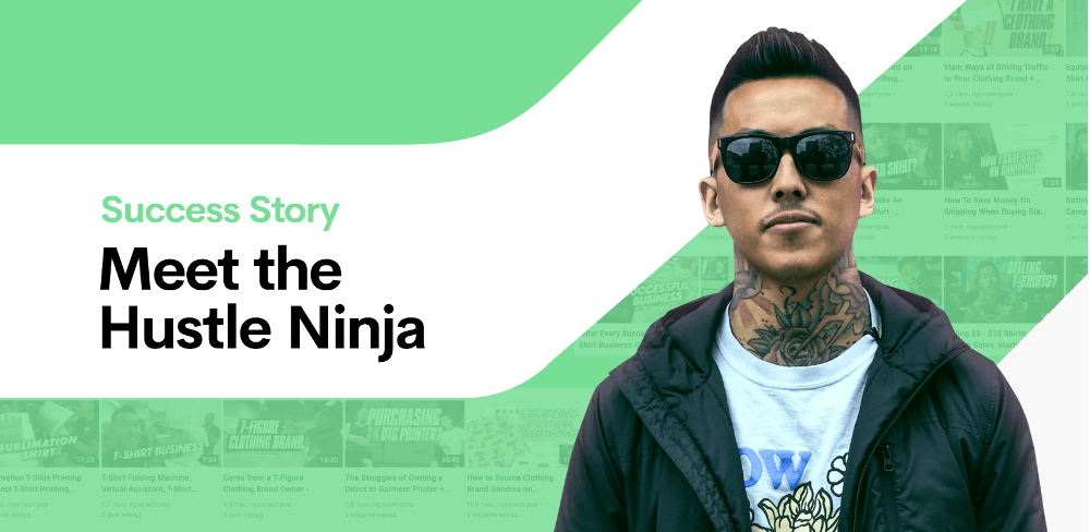 From making $200,000 a year to successful YouTuber, meet the Hustle Ninja