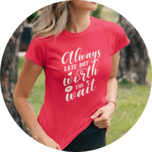T-shirt personalized gifts for her