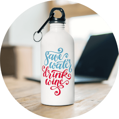 Water bottle personalized gifts for her