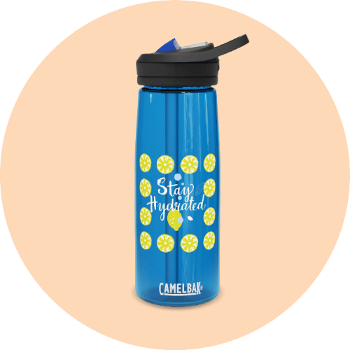 20 Print-on-Demand travel accessories for your online store - CamelBak Eddy water bottle