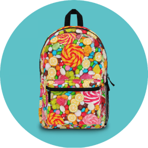 20 Print-on-Demand travel accessories for your online store - Custom backpack