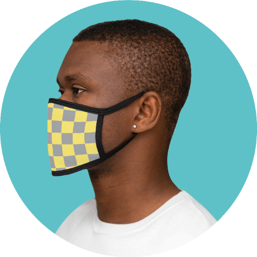 20 Print-on-Demand travel accessories for your online store - Face mask