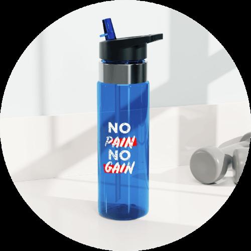 20 Print-on-Demand travel accessories for your online store - Kensington Tritan Sports Bottle