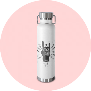 20 Print-on-Demand travel accessories for your online store - Vacuum insulated bottle
