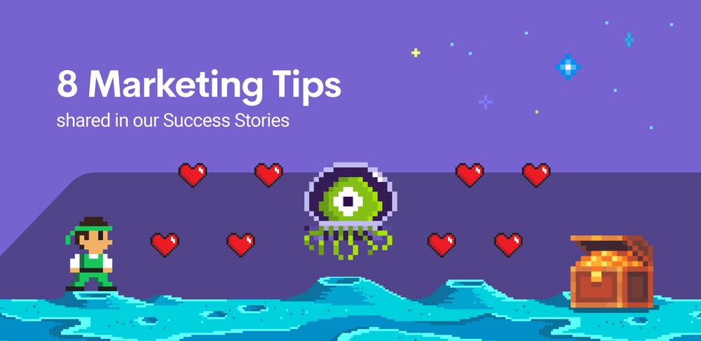 8 print-on-demand marketing tips shared in our Success Stories