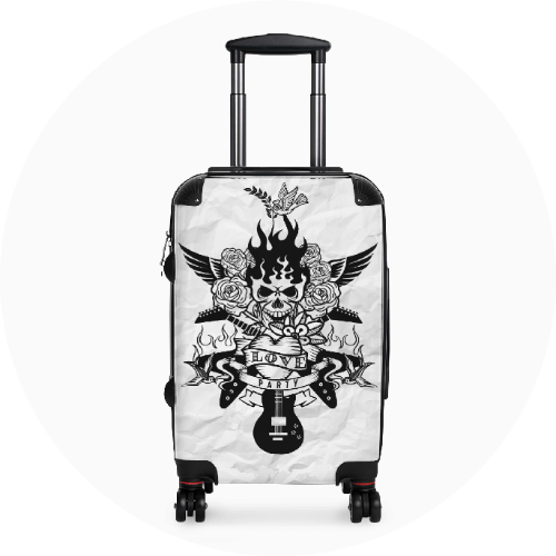 Custom Luggage Suitcases Musicians And Bands