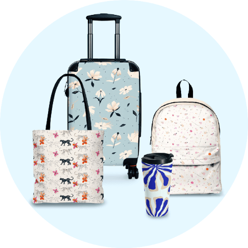 Custom Luggage Suitcases Sets