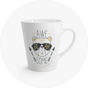 Custom Mugs Canada Latte Mug