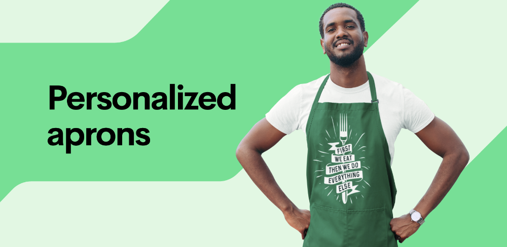 Personalized aprons: the versatile item missing in your online store