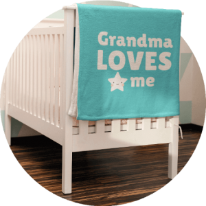 Personalized Baby Clothes Swaddle Blanket