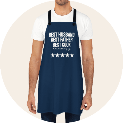 Personalized Aprons For Him