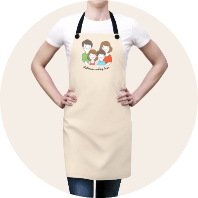 Personalized Aprons For The Family
