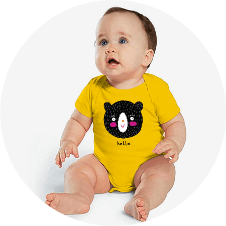 Personalized Baby Clothes Bodysuits