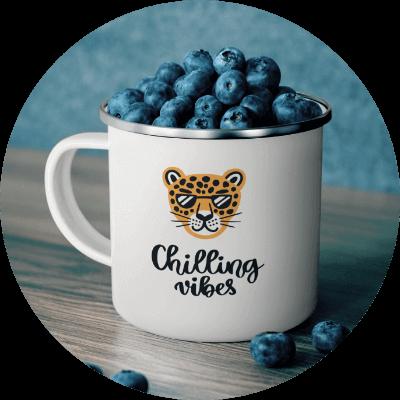 Summer Product Ideas Enamel Mug