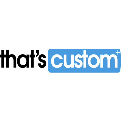 That's custom Shipping rates logo