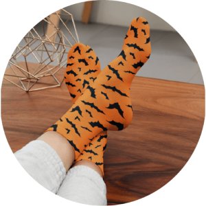 10 spooky Halloween gifts to stock your online store with - Halloween socks