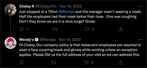 respond to negative customer feedback