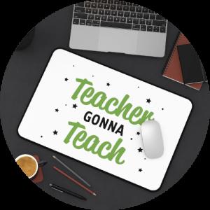 Back-to-school basics - Desk Mat