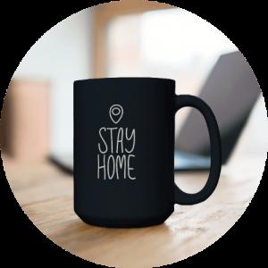 Cozy Essentials - Black mug