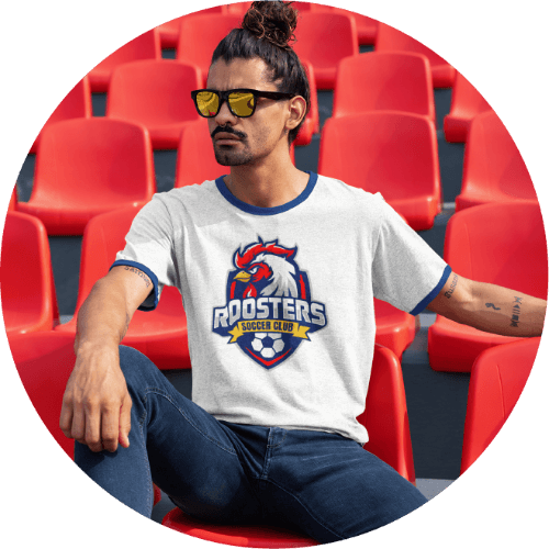 Custom Team Shirts - Hobby and professional athletes